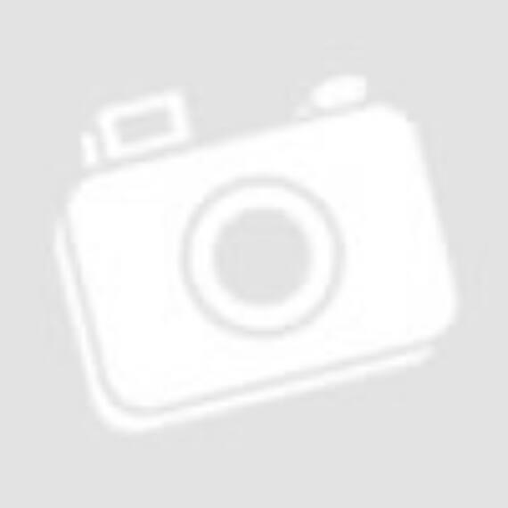 Karácsonyfa dekoráció, csillogó piros színben,ajándék multicolor LED fénysorral